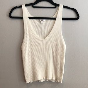 Ardene Large White Tank Top!